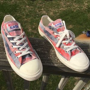 Converse Chuck Taylor Stars and Stripes USA Shoes
